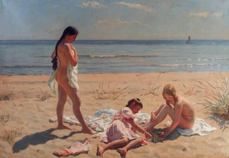 store bryster på stranden eskort aarhus